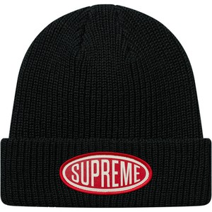 Supreme Oval Beanie Knit Cap