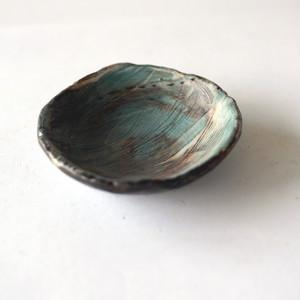 「青い風」豆皿