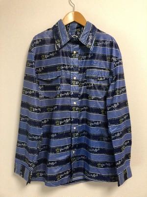70's LIBERTY BELL nylon ski shirt
