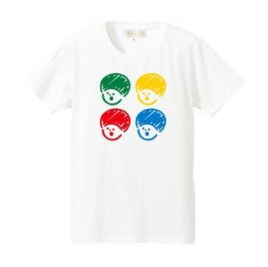 4カラーマッシュTシャツ
