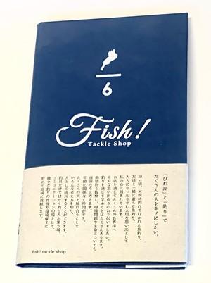 REEDEN ロクブンノイチ野帳 「Fish!ロゴ入り」