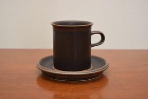 アラビアルスカコーヒーカップ&ソーサー④【ARABIA/Ruska】北欧 食器・雑貨 ヴィンテージ | ALKU
