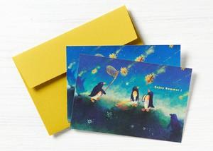 ポストカード2枚セット[エンジョイサマー]