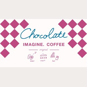 La Chocolaterie NANAIRO × IMAGINE. COFFEE オリジナル チョコレート 1枚