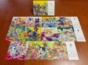 2021年版井上家ネコちゃんカレンダー