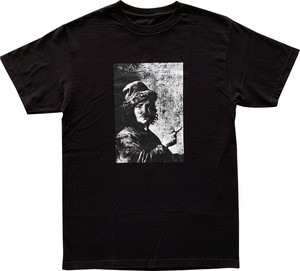 "CRACK GALLERY ""PIPE"" Tee / Black"