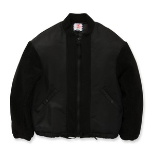 【SON OF THE CHEESE】Bear arm JKT(BLACK)  WOMENS