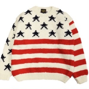 SUNNY SPORTS/サニースポーツ | FLAG CREW SWEATER - White