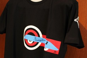VINTAGELOVERS Printed T-shirt Black