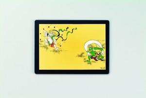漆芸マウスパッド&ピクチャー  風神雷神