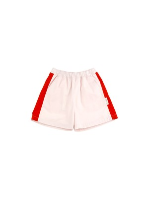 tinycottons /solid wv short[light pink/carmin]