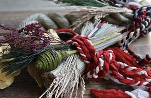 【キット】インドサリー紐水引きお正月飾り