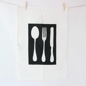 KORPI&GORDON (コルピ&ゴードン) / キッチンタオル カトラリー ホワイト ブラック 北欧 インテリア オーランド スウェーデン