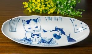 プレート皿(長)