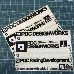 【お得なLサイズ2枚セット】pdc_STICKER SHEET [L]