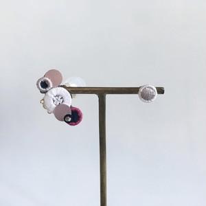 白梅の耳飾り