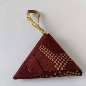 表装仕上げ 三角小銭入れ 小サイズ ks05