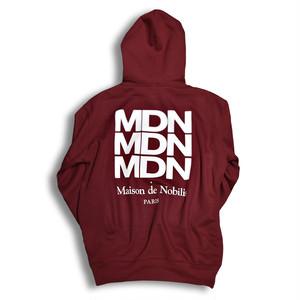 【送料無料】Three MDN Back Logo Hoodie【品番 18A3003】
