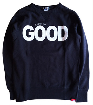 GOOD CREW SWEAT/BLACK