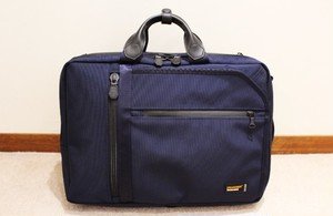 ENGAGEMENT Expandable 3Way Briefcase EGBF-013 Navy