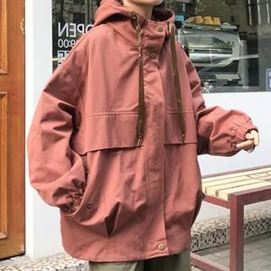 【アウター】韓国系原宿風アウタージッパースタンドネックカジュアル切り替えスボーツ系ジャケット26566817