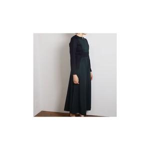 ohta オオタ green navy dress
