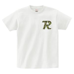 R-logo Breast / Tシャツ(Camo/White)【送料無料】【Shop限定】