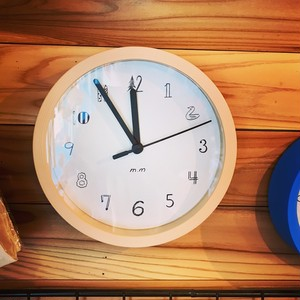 松尾ミユキ Wall Clock S   Fake Wood