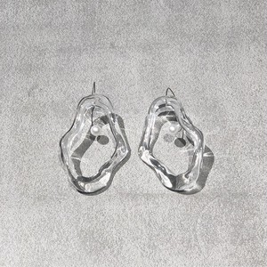 【Iria Ashimine】Oyster Whitstable transparent (pierce)