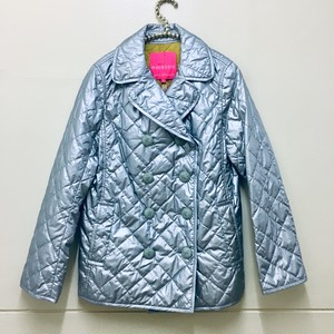 quilting silver coat