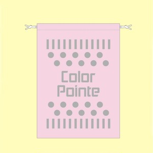 巾着ポーチ(ピンク)