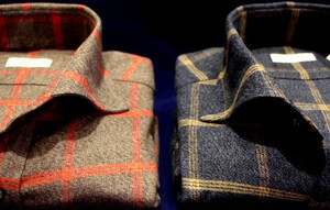 CADETTO ORIGINALS SHIRTS Melange Windowpane
