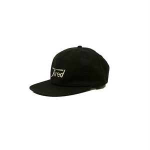 LONG LOGO SNAP BACK <black> 【TIRED】