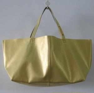 OTONA eco-bag Mサイズ plutinum-gold
