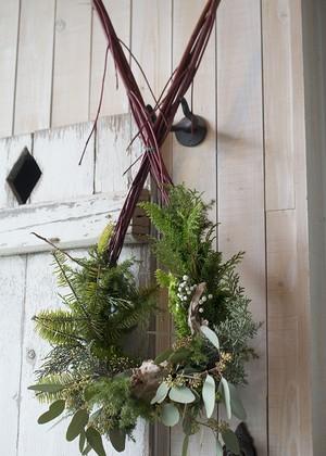 オランダのクリスマスリース「NEIGE」 予約限定12月10日まで