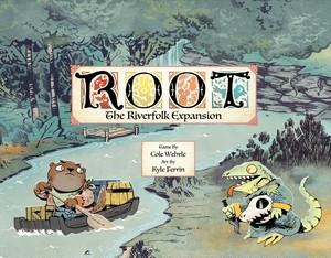 「Root拡張: The Riverfolk Expansion 」(日本語説明書・シール付属)