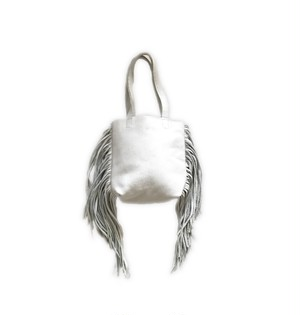 SALE! Fringe tote bag(white)