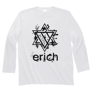 ERICH / HEXAGRAM LONG SLEEVE T-SHIRT WHITE