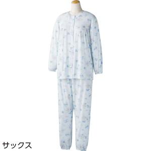 婦人 ホックボタン天竺パジャマ