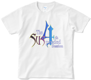 """8/28~9/11限定販売 """"The Suspended 4th Session"""" Web物販Tシャツ WHITE"""
