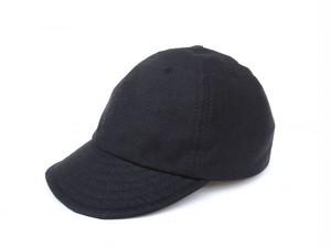 KASZKIET (カシュケット) LINEN CAP ブラック