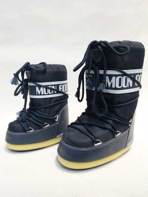 MOON BOOT KIDS NYLON 064DENIM