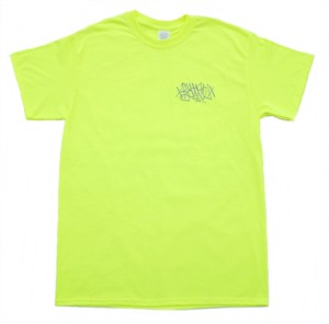 BATSU ORIGINAL tagging tee safety green