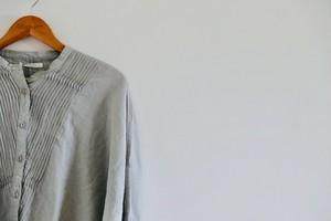 ピンタックリネン ドルマンシャツ ON SALE!