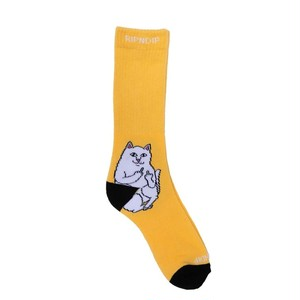 RIPNDIP - Lord Nermal Socks (Gold)