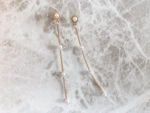 swing vintage pearl line pierce