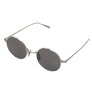 titanium sunglasses / silver(KANEKO optical made)