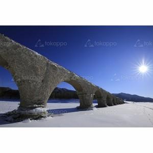 アーチ橋タウシュベツ