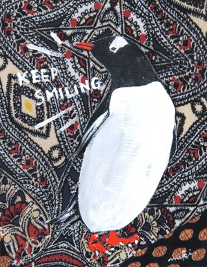 Penguin / Mexican cloth / 01