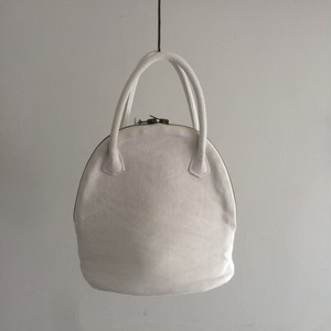MARTAU.  / shell bag XS white